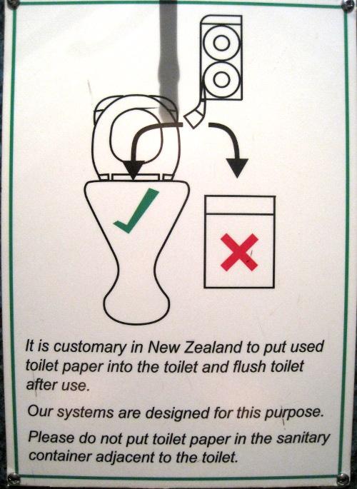 . La Vie Soleil   Blog Archive   Kiwi toilet signs