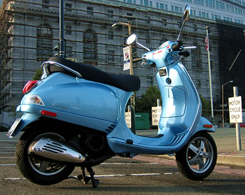 2006 LX150 Hot baby blue
