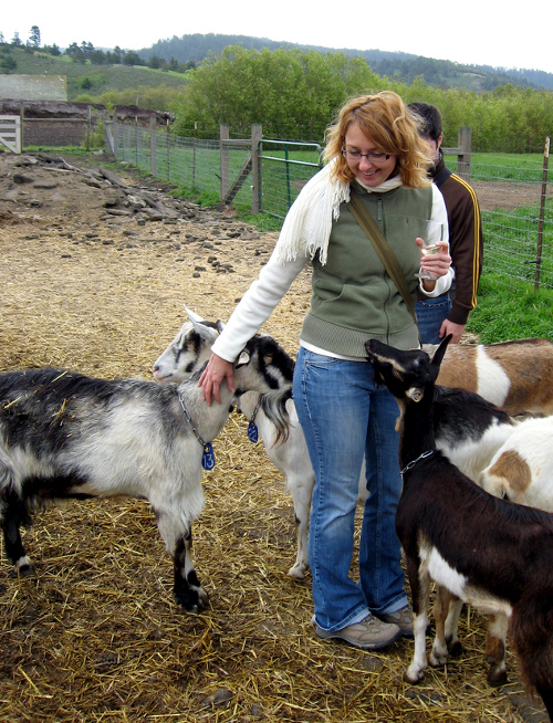 steph-and-goats