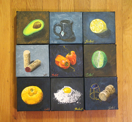 small-square-paintings